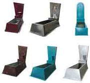 Изготовление  ритуальных изделий из листового металла ( оцинкованного,
