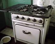 Вывоз старой газовой плиты  на металлолом