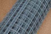 Сетка сварная оцинкованная и светлая в рулонах Ячейки сетки: 25х50мм