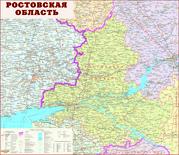 Настенные карты городов и областей