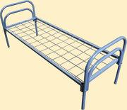 Долговечные кровати металлические для интернатов,  учебных заведений